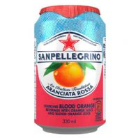 Sanpellegrino Cans Orange & Pommegranite 24 x 330ml